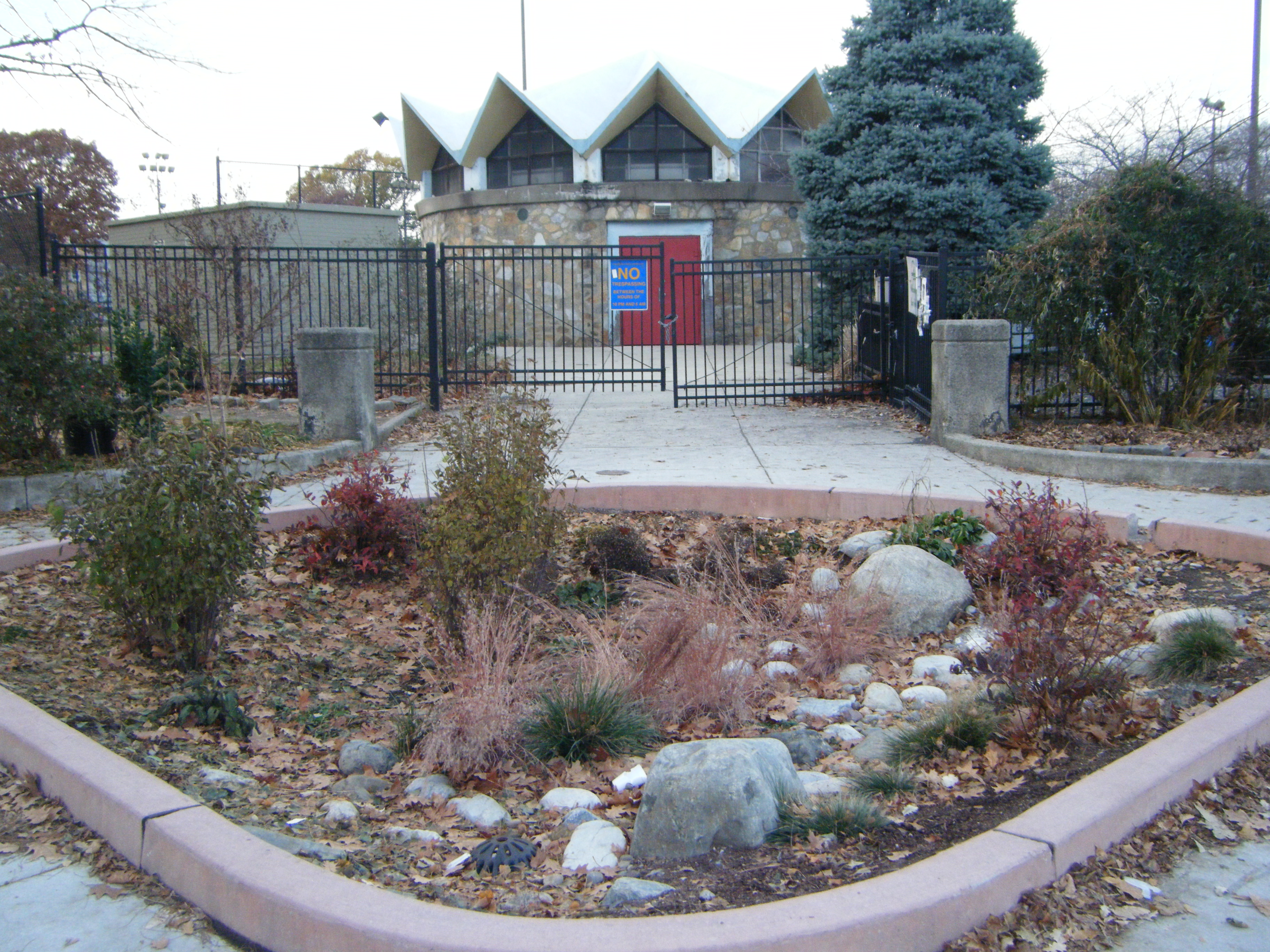 stormwater management garden