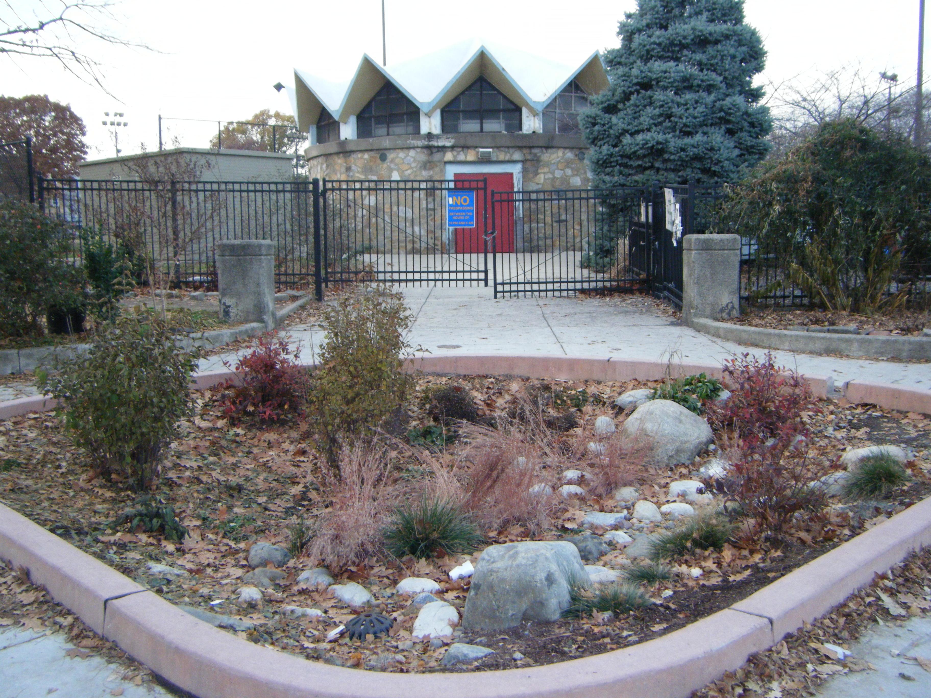 stormwater management garden