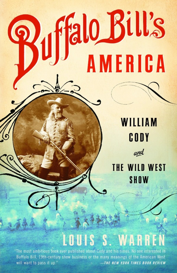 Cover of book about buffalo bill