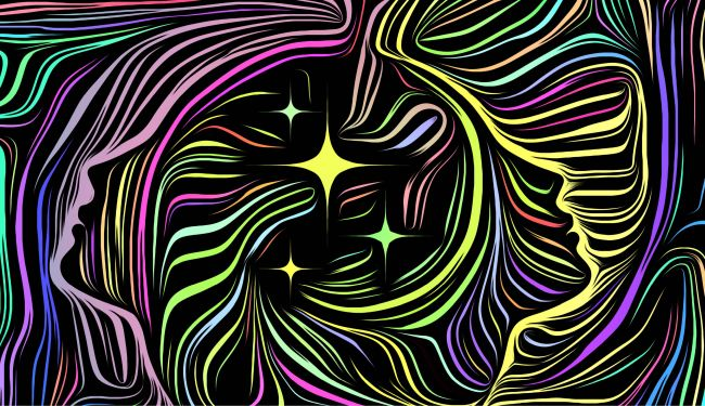 colorful illustration of the soul