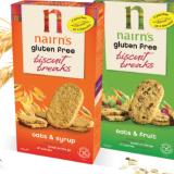 Nairn's new gluten-free biscuit breaks