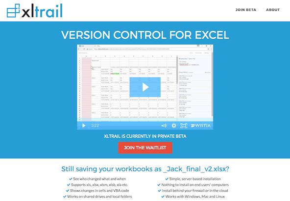 xltrail homepage