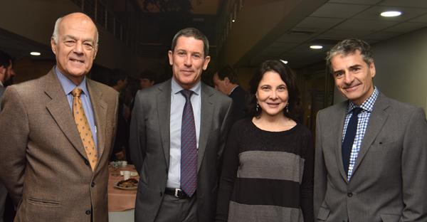 Joseph Ramos, Marcelo Larraguibel, Karen Poniachik and Andrés Velasco.