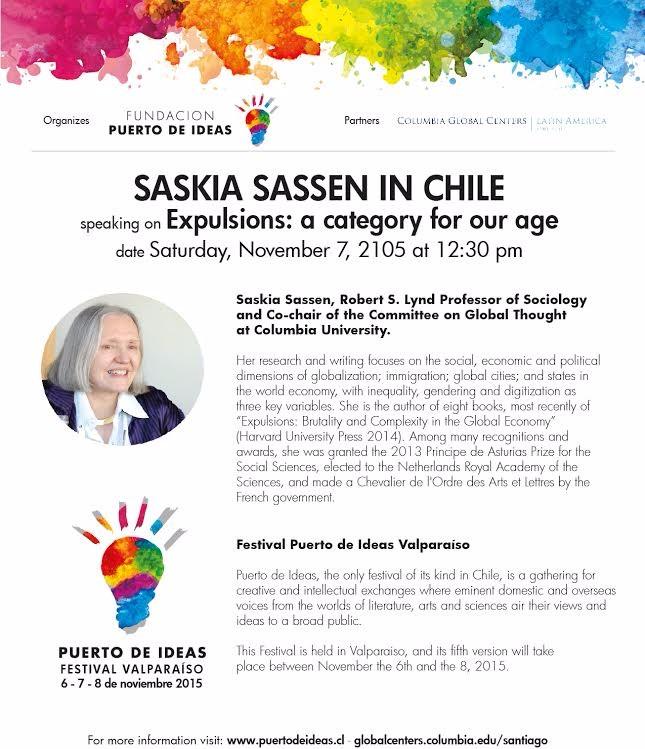 Saskia Sassen in Chile