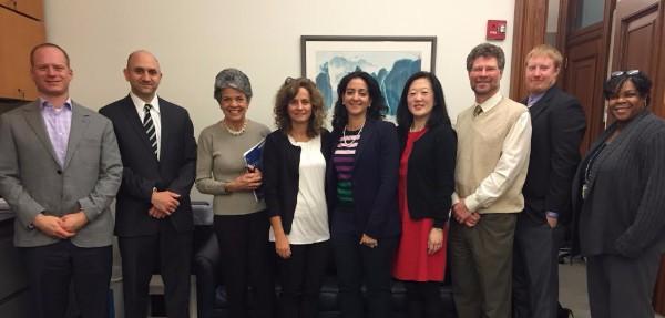 María Elena Boisier, Research Director of Chile's Universidad Católica (UC), visits Columbia.