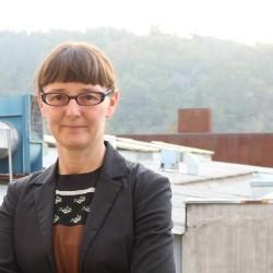 Felicity Scott, director of the PhD program in Architecture.