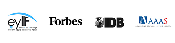European Young Innovators Forum • Forbes • Inter-American Development Bank • Advancing Science Serving Society