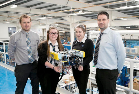 Hydro Group help students in MATE ROV Challenge