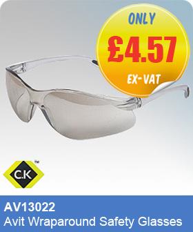 CK Tools AV13022 Avit Wraparound Safety Glasses