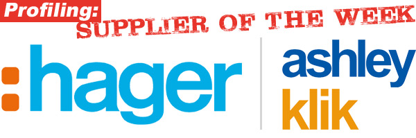 HAGER - supplier of the week