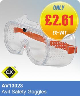 CK Tools AV13023 Avit Safety Goggles