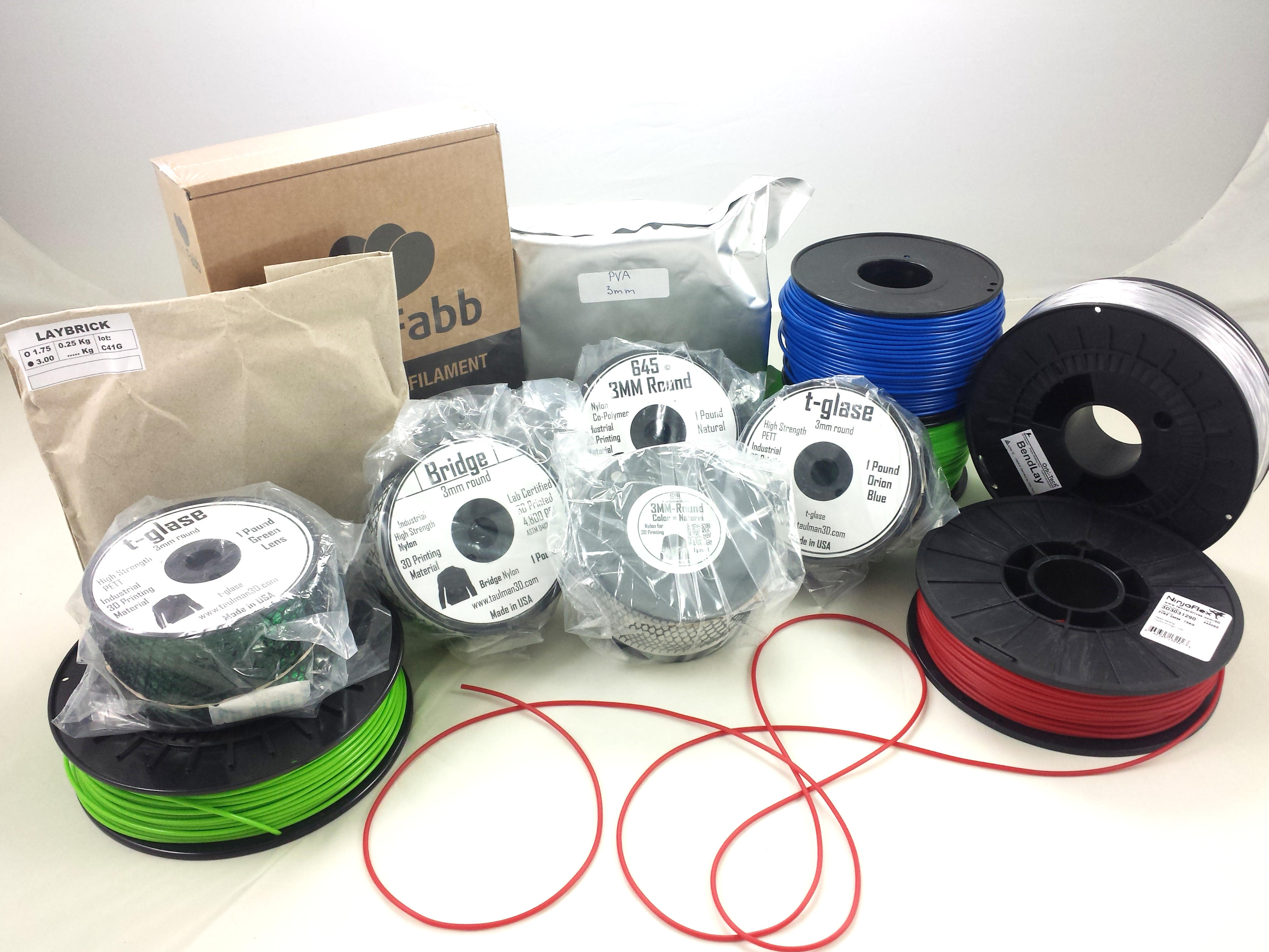 15% DISCOUNT on ALL 3MM filaments starting NOW ending monday at 23:59