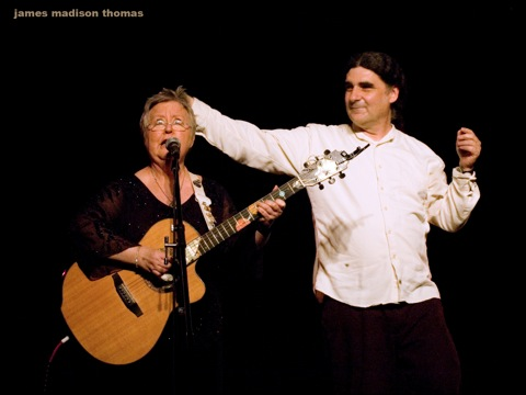 Christine Lavin and Don White - at the Circle of Friends Coffeehouse - Oct 28