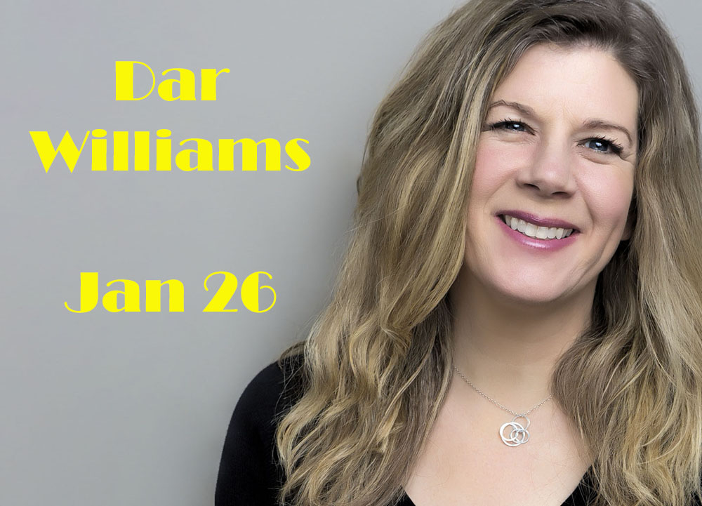 Circle of Friends Coffeehouse: Dar Williams Jan 26