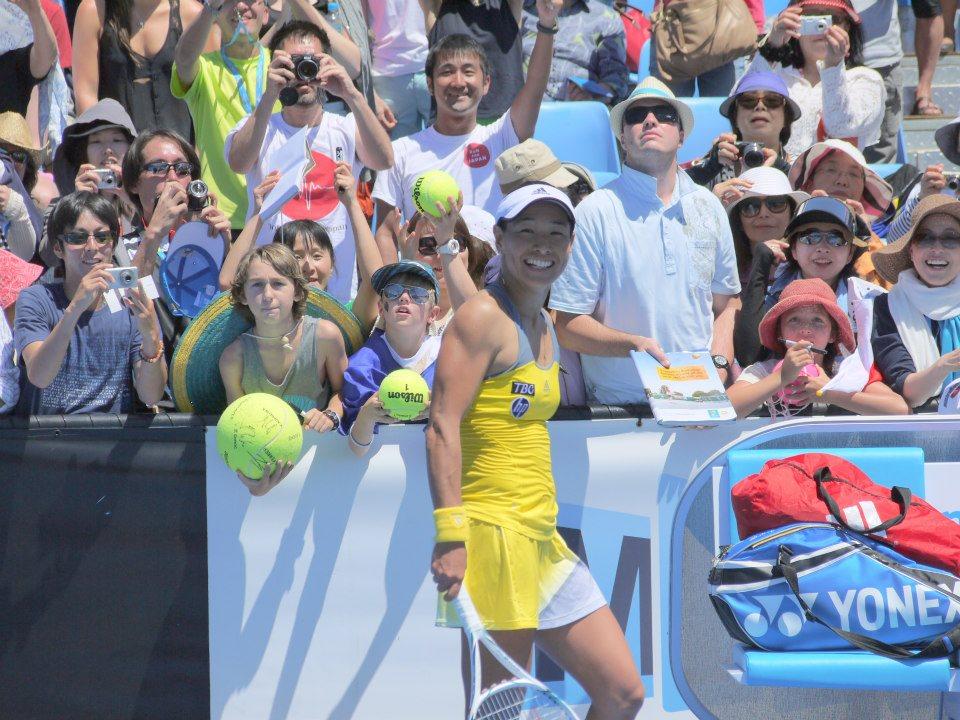 オーストラリアの夏は全豪オープンテニス