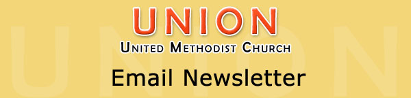 Union United Methodist Church - Email Newsletter
