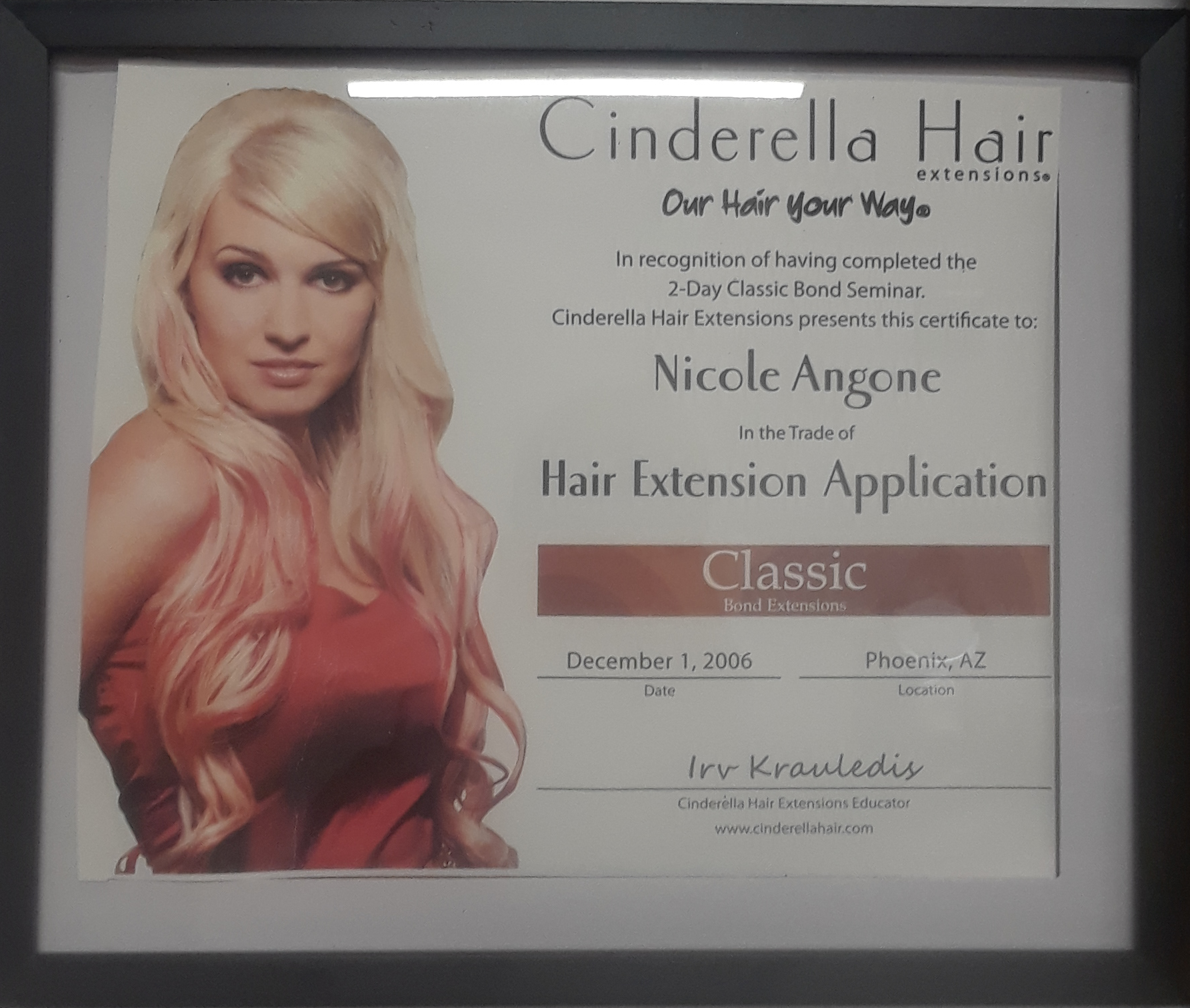 Nichole's Extension Certification