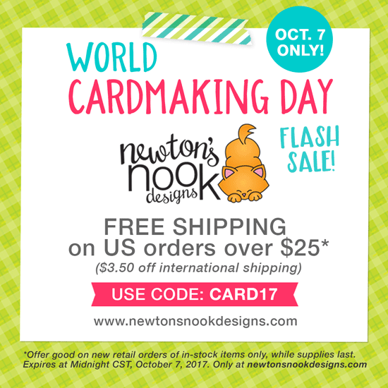 World Cardmaking Day 2017 Sale Graphic