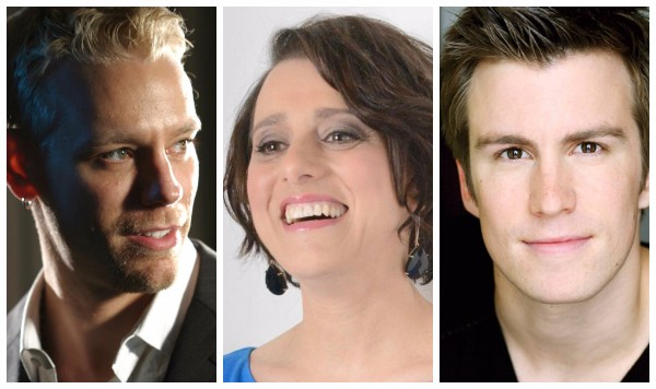 Judy Kuhn, Gavin Creel and Adam Pascal live in New Orleans in 2016 - 17