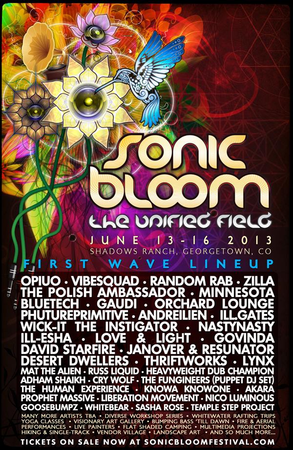 SONIC BLOOM 2013