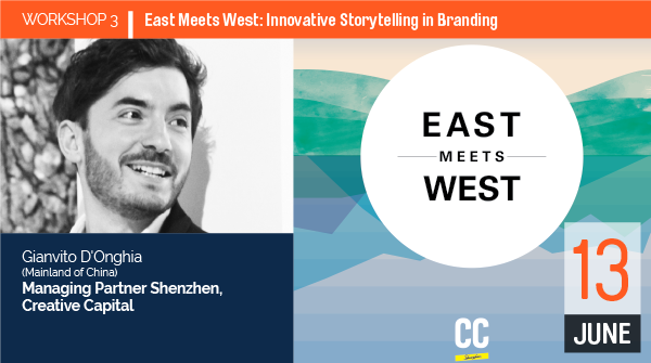 WORKSHOP 3 East Meets West: Innovative Storytelling in Branding