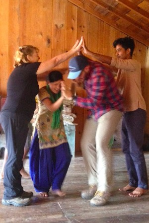 "Kumaon Dancing (click ""display images"")"