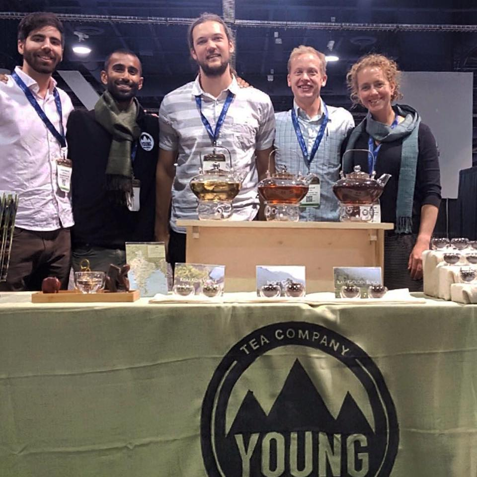 world tea expo- young mountain tea