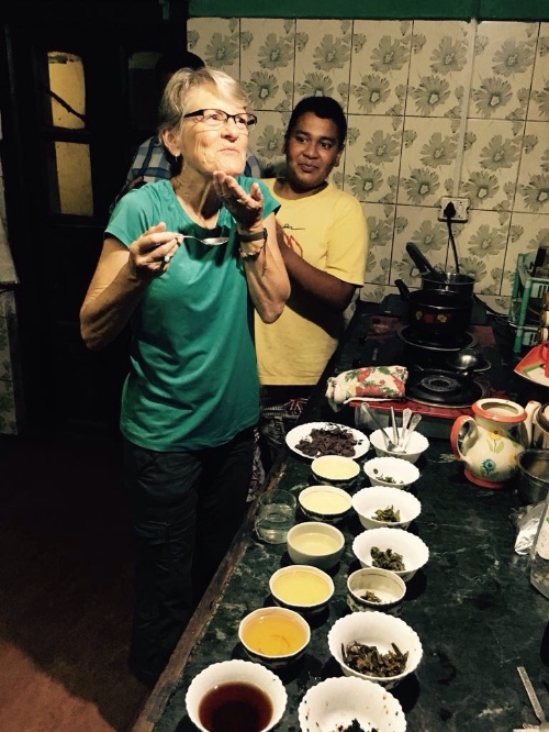 India Trips- young mountain tea