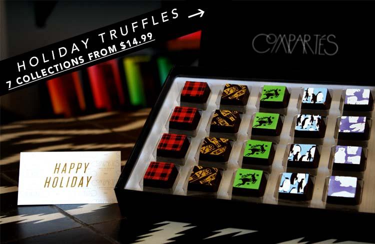 Happy Holiday Truffles
