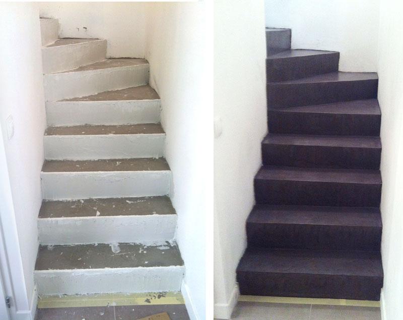 Des escaliers tout neuf !