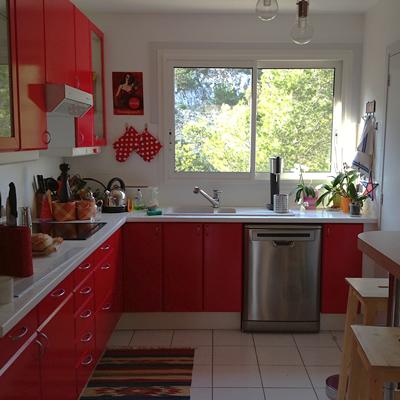 Après: Une cuisine moderne et focntionnelle.