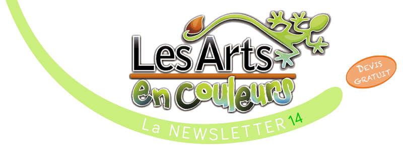 Les Arts en Couleurs, la newsletter 13