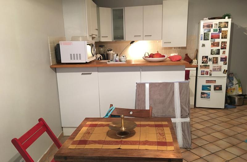 Les Arts en Couleurs — pose cuisine Ikea