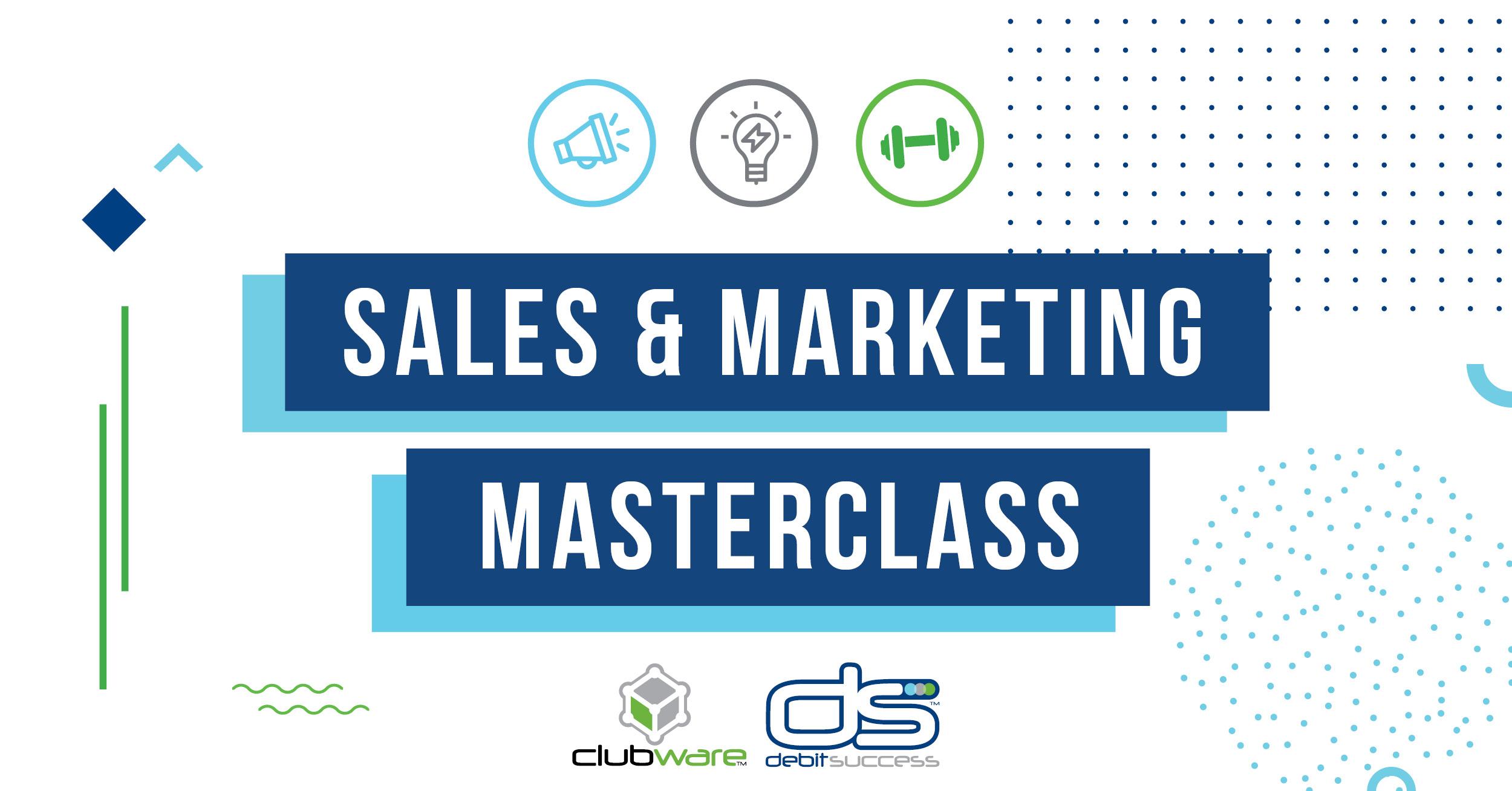 sales and marketing masterclass