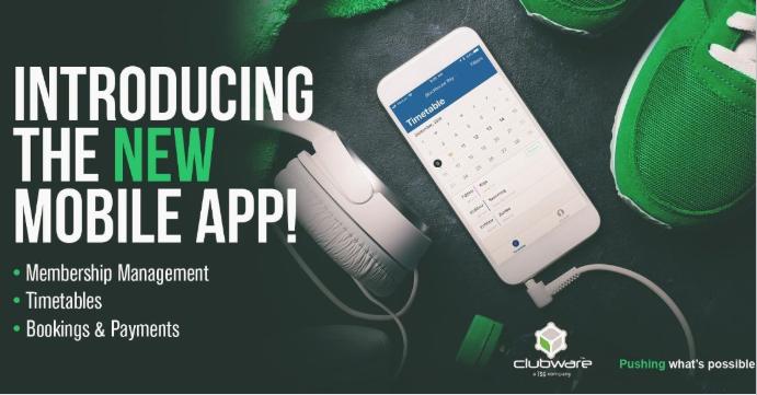 new mobile app clubware