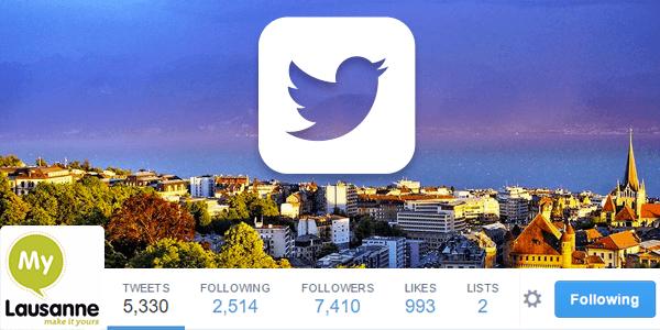 Lausanne Tourisme sur Twitter