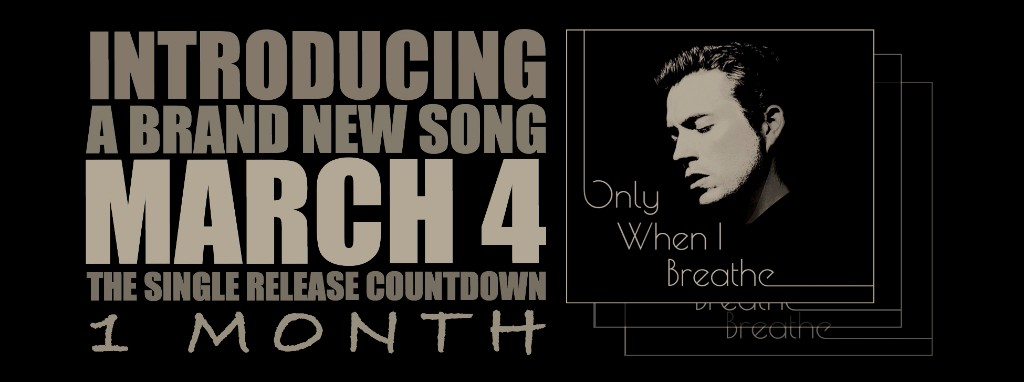 """Kevin Ahart: """"Only When I Breathe"""" Single Release"""