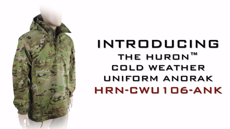 Introducing the Huron™ Cold Weather Uniform Anorak
