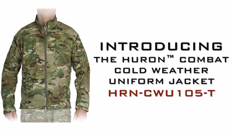 Introducing the Huron™ Combat Cold Weather Uniform Jacket