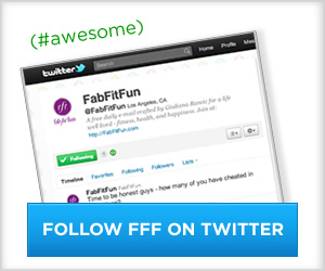 Follow FabFitFun on Twitter