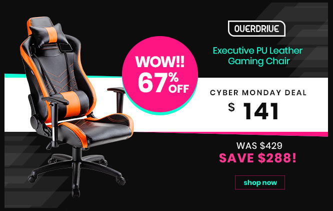 Executive PU Leather Gaming Chair