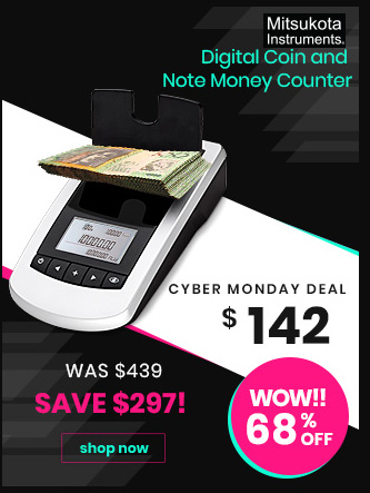 Digital Coin and Note Money Counter