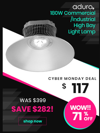 180W Commercial/Industrial High Bay Light Lamp