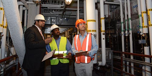 Men Conducting Safety Inspection