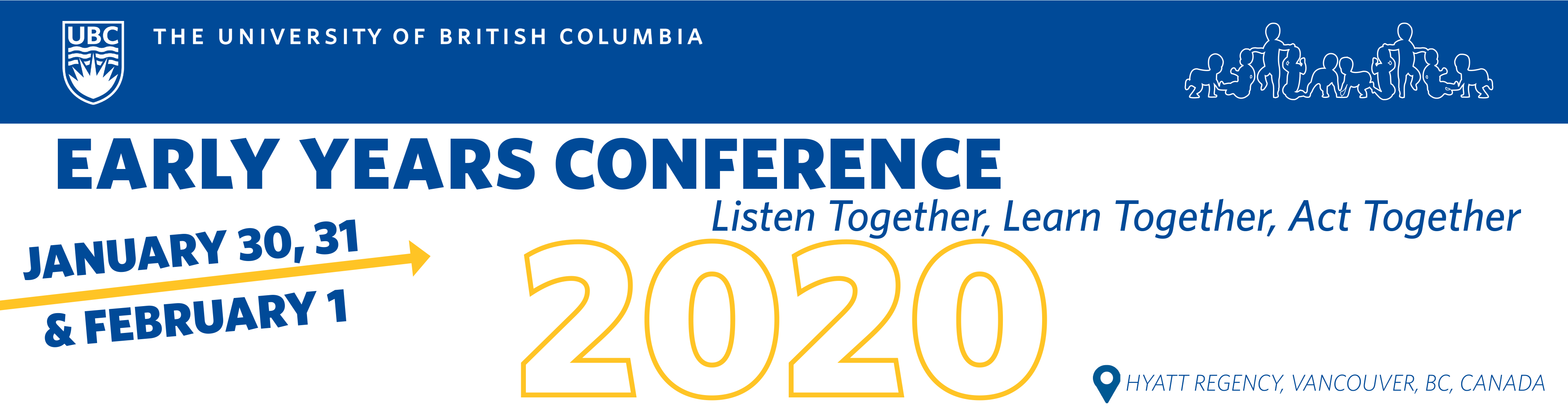 Early Years Conference: January 30, 31, & February 1, 2020