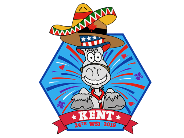 Kent World Jamboree badge