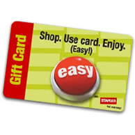 Win a STAPLES gift card!
