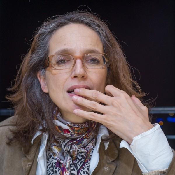 Une historienne aux Editeuriales  © (Photo Patrick Lavaud)