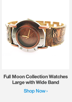 Shop Full Moon Collection Watches Large with Wide Band