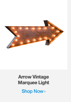 Shop Arrow Vintage Marquee Light